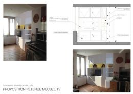 Proposition retenue MEUBLE TV