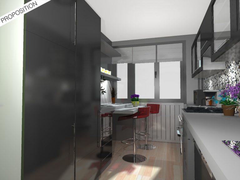 Rendu 3D Cuisine