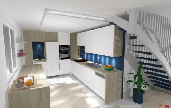 Réaménagement d'une maison sur Chaponnay
