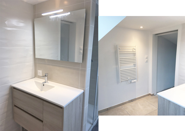 Photo salle de bain étage.